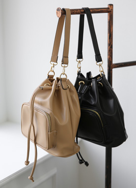 Casual Mini Bucket Bag, Styleonme