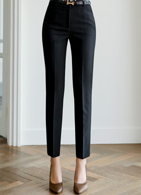 Perfect Slim Line Straight Leg Slacks, Styleonme