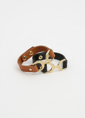 Simple Leather Bracelet, Styleonme