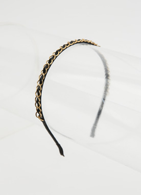 Gold Chain Headband, Styleonme