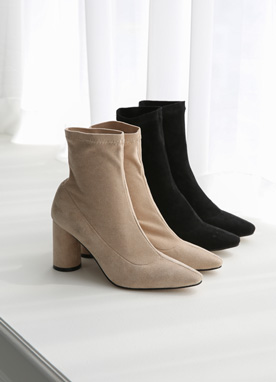 Suede Ankle Boots, Styleonme