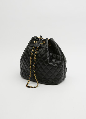 Quited Bucket Bag, Styleonme