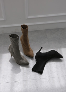 Chic Mood High-Heel Ankle Boots, Styleonme