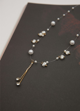 Romantic Pearl Layered Necklace, Styleonme