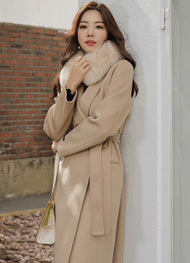 Handmade Tailored Wool Coat, Styleonme