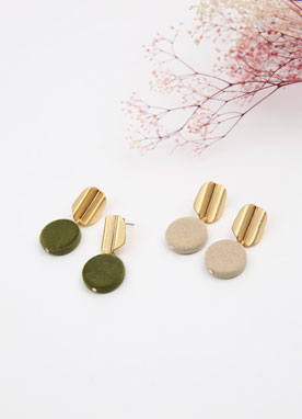Soft Mood Suede Drop Earrings, Styleonme