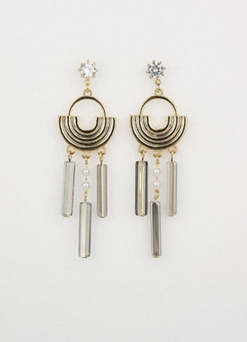 Midnight Drop Earrings, Styleonme
