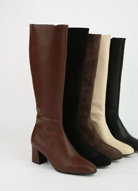 Daily Knee High Boots, Styleonme