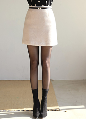 Soft A-Line Mini Skirt, Styleonme