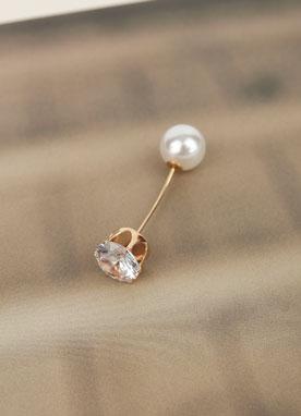 波浪形珍珠胸針, Styleonme