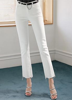 柔軟舒適微喇版型休閑褲, Styleonme