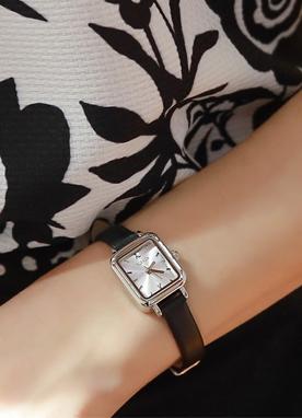 牛皮方形手表, Styleonme