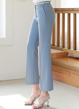 一字型修身版型寬松褲, Styleonme