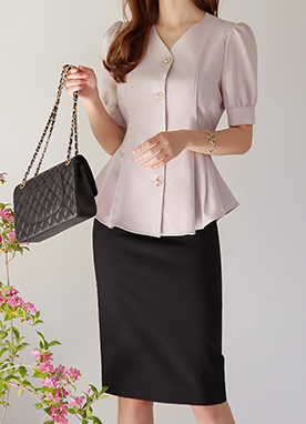 日常款H型基本半身裙, Styleonme