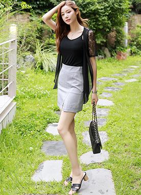 自然風格A字型裙褲, Styleonme