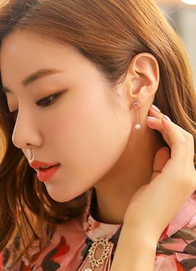 方形珍珠耳環, Styleonme