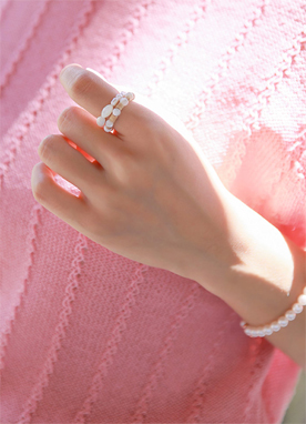 珍珠木質戒指, Styleonme