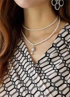 珍珠2條項鏈, Styleonme