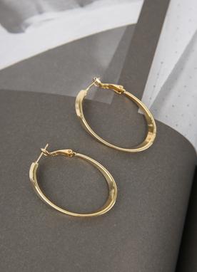 橢圓形耳環, Styleonme