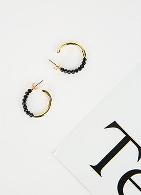 黑色寶石耳環, Styleonme
