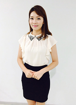Leaf Collar Wing Sleeve Blouse, Styleonme