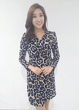 Leopard Printed Dress, Styleonme