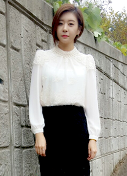 Blooming Laced Blouse, Styleonme