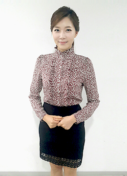 Small Flower Frilled Blouse, Styleonme