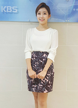 Floral Print H-Line Skirt, Styleonme