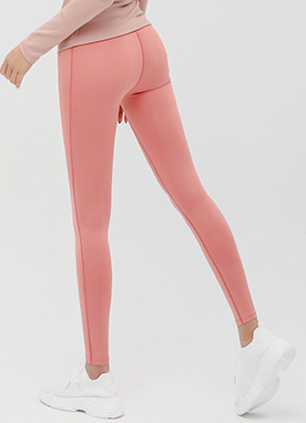 Stitch Line High-Waisted Leggings, Styleonme
