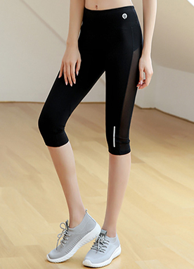 Extreme Cooling Mesh Knee Length Leggings, Styleonme