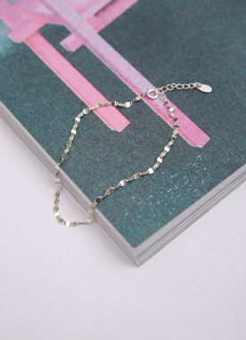 92.5 Silver Anklet, Styleonme