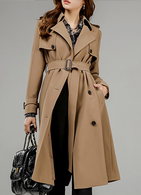 Mood & Chic Lineup Collection Trench Coat, Styleonme