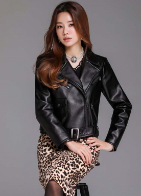 Zipper Rider Jacket, Styleonme