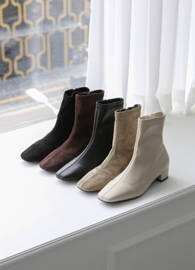 5Colors Basic Ankle Boots, Styleonme