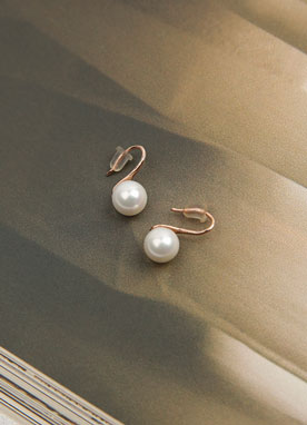 Elegant Pearl Earrings, Styleonme