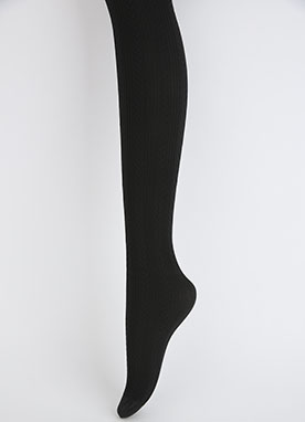 Cable Pattern Stockings, Styleonme