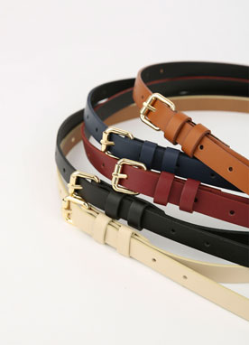 5Color Basic Skinny Belt, Styleonme