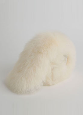 Soft Fox Fur Muffler, Styleonme