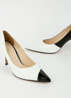 Black & White High Heels, Styleonme