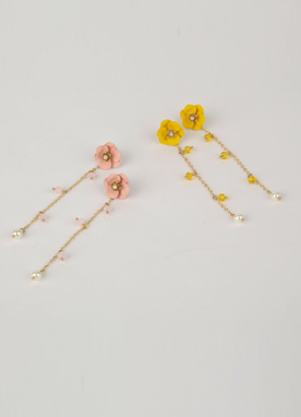 Spring Flower Drop Earrings, Styleonme