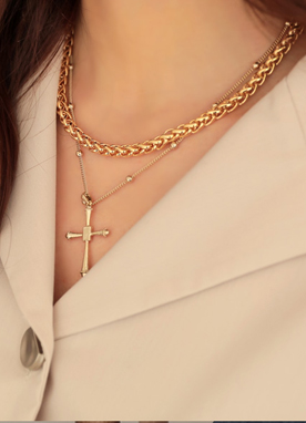Luxury Gold Chain Necklace, Styleonme