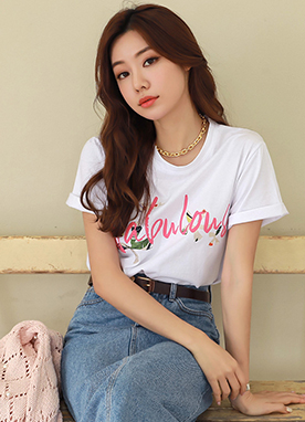 FABULOUS Short Sleeve T-Shirt, Styleonme