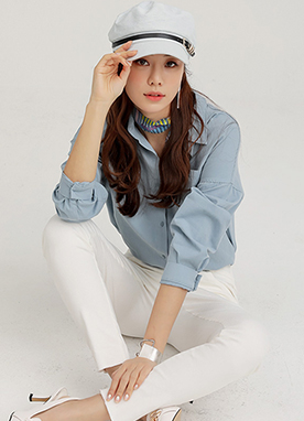 Dailywear Collared Shirt, Styleonme