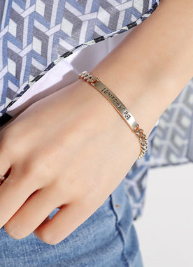 BE AMAZING Gold Chain Bracelet, Styleonme