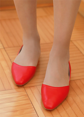 Vivid Color Daily Flat Shoes, Styleonme