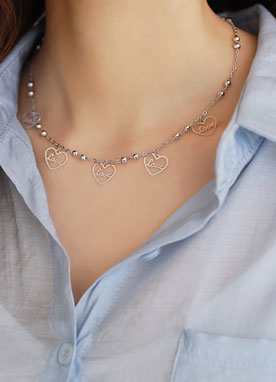 LOVE Heart Necklace, Styleonme