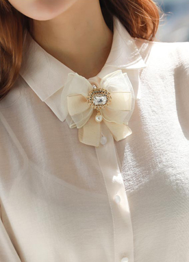 Luxury Ribbon Brooch, Styleonme