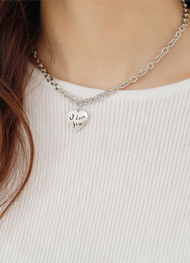 Small Heart Pendant Necklace, Styleonme