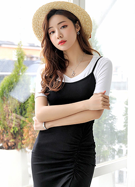 Soft V-Neck T-Shirt, Styleonme